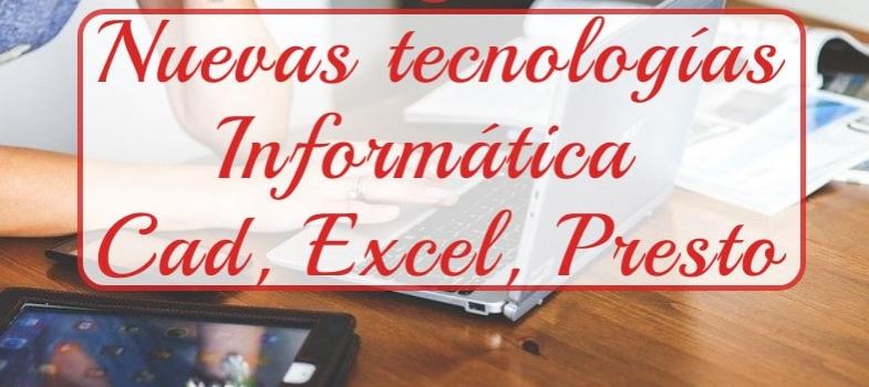 Curso de nuevas tecnologías: Cad, Excel y Presto