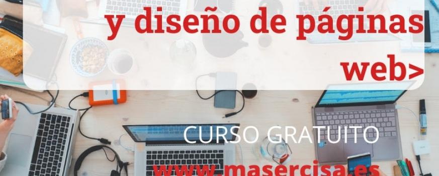 Curso de creación, programación y diseño de páginas web