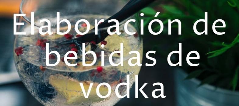 Curso de elaboración de bebidas de vodka